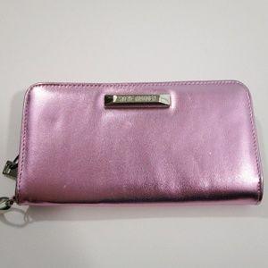 Steve Madden Blush BKate Zip Around Wallet